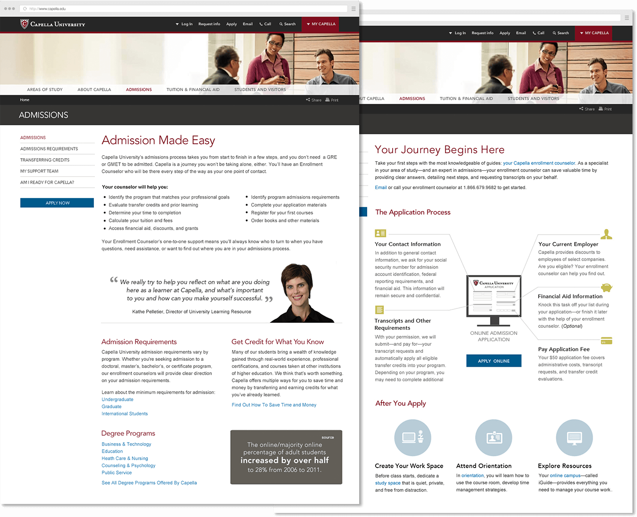 Capella.edu Admissions